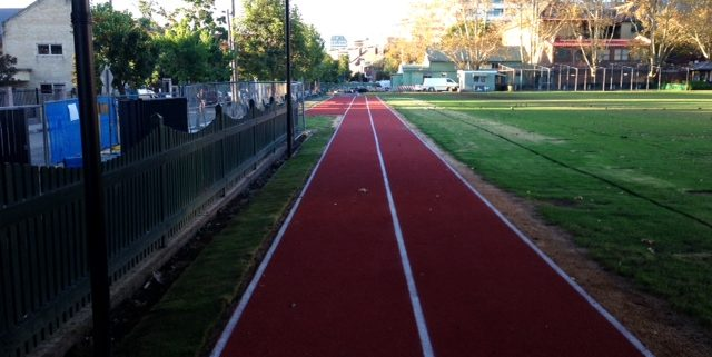 Shore Rubber Running Track
